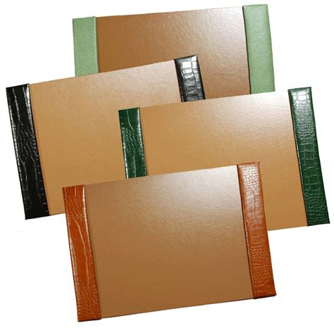 Leather Desk Blotters Desk Pads And Blotters Custom Desk Blotters