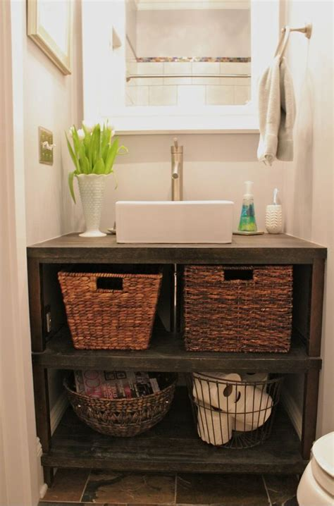 diy small bathroom vanity bathroom vanity diy project bathroom pinterest