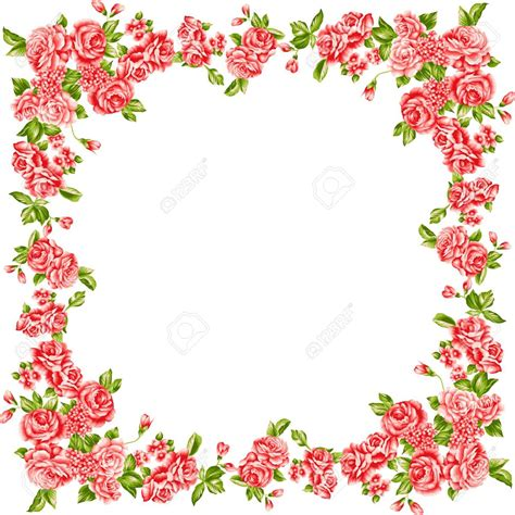 photo cornici cornici fiori clipart