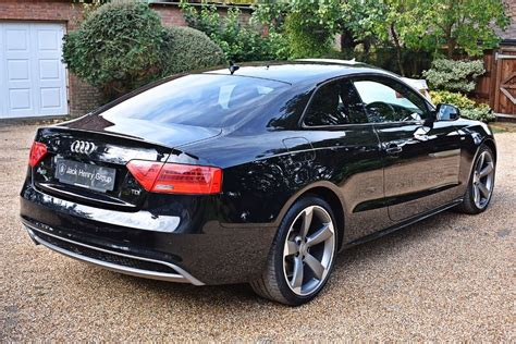audi a5 in black used black audi a5 for sale kent