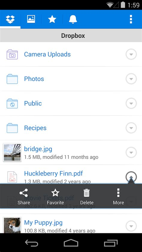 free dropbox app for android dropbox android apps on play