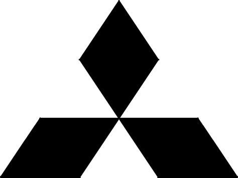 mitsubishi logo black learning activity gestalt theory segeland