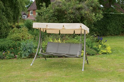 garden 3 seater swing hammock brown 3 seater garden swing seat hammock weatherproof