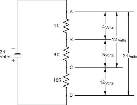simple resistor divider circuit dc electrical circuits dc wiring diagram and circuit schematic