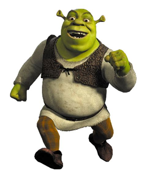 free shrek painting shrek png images free