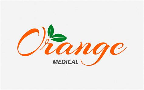logo orange orange medical logo