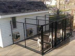backyard runs kennel direction