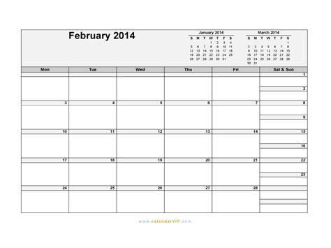 february 2014 calendar template february 2014 calendar blank printable calendar template
