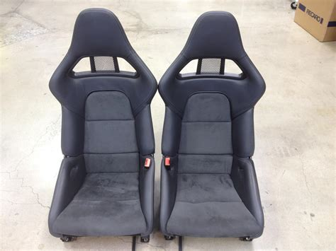Porsche 997 Seats by 911 997 Gt2 Gt3 Rs Carbon Fiber W In Alcantara Leather