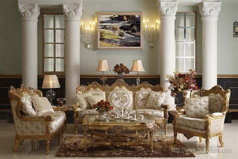 Filiphs Palladio Italian Classic Hand Carved Royal Italian Living Room Sets