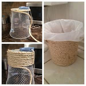 Ideas For Waste Baskets Design Awesome Dollar Store Organizing Ideas