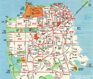 San Francisco Zip Codes Map by Southwest San Francisco Solar