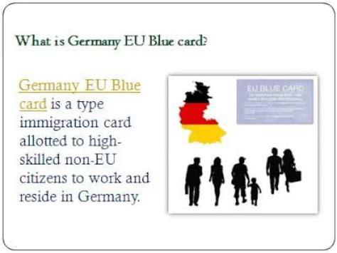 Blue Card Application Process Germany Eu Blue Card Requirements And Application Process