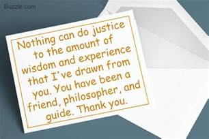smart tips on writing a thank you note to your