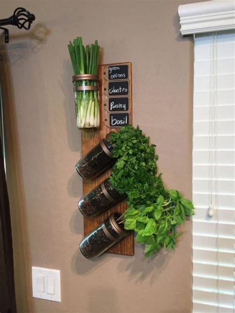 14 diy herb garden ideas for vertical indoor gardening