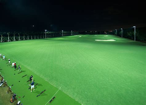 driving range with lights musco brings led technology to doral musco sports lighting