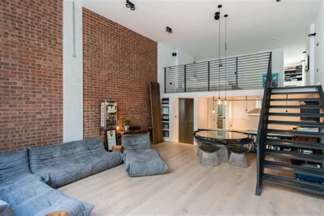 loft apartments   industrial factory feel  northbourne london