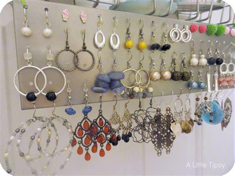how to make jewelry organizer 51 diy earring storage diy earring holder lamevallar net