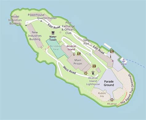 san francisco islands map alcatraz prison tours which one to choose a local s tips