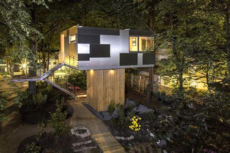 team tree house gallery of urban treehouse baumraum 2