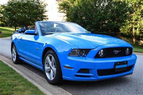 2013 grabber blue mustang gt 1zvbp8ff0d5270298 2013 ford mustang convertible gt