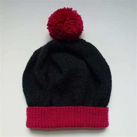 simple bobble hat knitting pattern fvh bobble hat knitting pattern football v homophobia