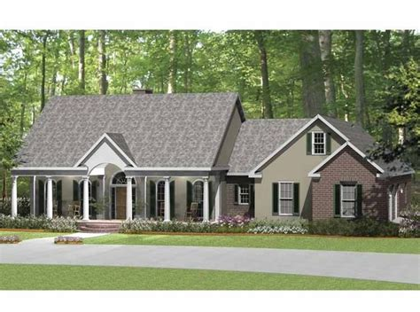 Colonial Country House Plans by Ranch House Plan With 2638 Square And 3 Bedrooms From