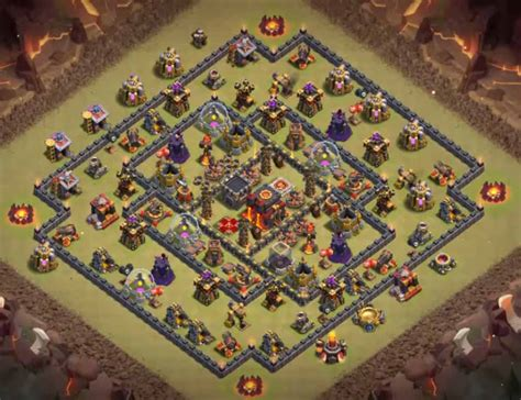 th10 layout names 9 best th10 war bases anti valks bowlers 2 bomb tower 2017