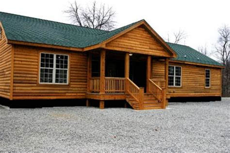 rustic single wide mobile homes images
