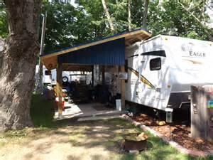 Trailer Porch our cer porch travel trailer porches porch rv and cing
