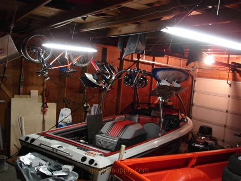 fluorescent lights for cold garage garage with strips