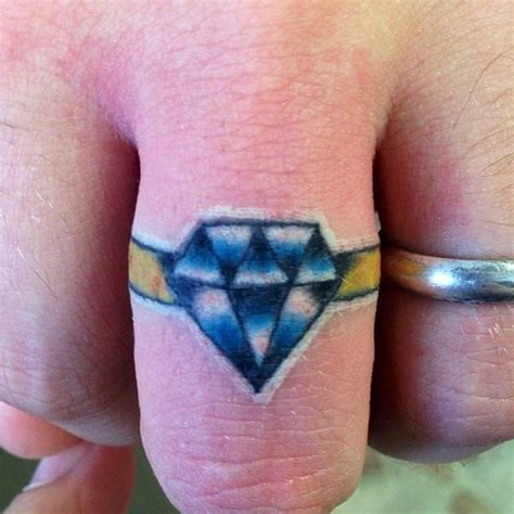 tattoo diamond ring collection of 25 diamond ring tattoo designs