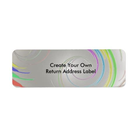 design your label free create your own return address label 2 zazzle