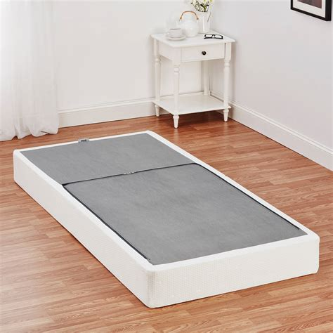 twin bed foundation mainstays half fold metal box spring twin full queen size mattress foundation ebay