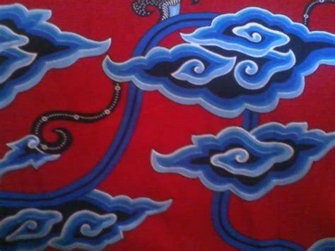 Jaket Motif Awan filosofi batik mega mendung medogh