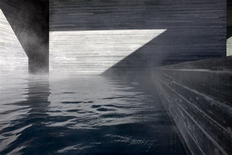 Backyard With Pool Ideas Peter Zumthor S Thermal Baths At Vals Revisited Uncube