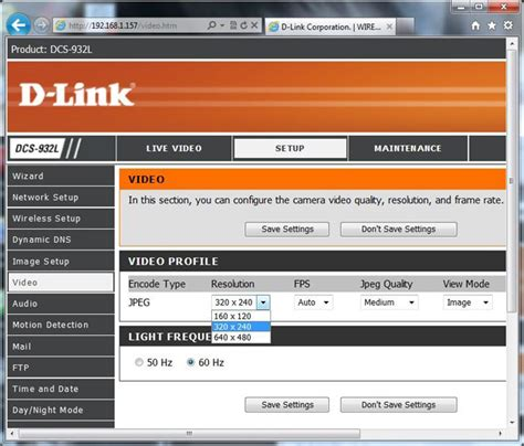 d link ip setup configure d link dcs 932l 930l 931l and 934l to upload