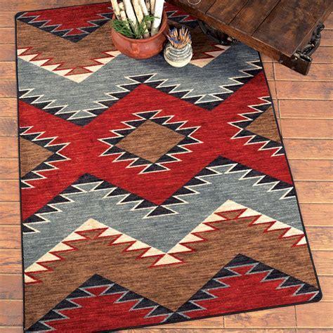 Southwest Rugs: 4 x 5 Heritage Southwestern Rug Lone Star