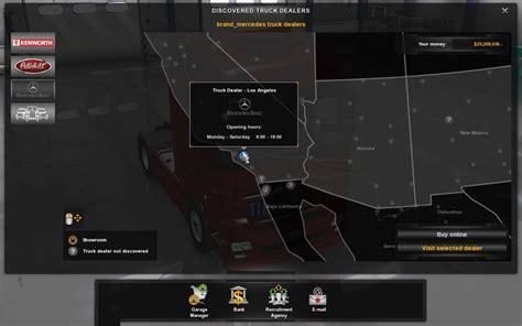 Mercedes Dealer Locations by Ats Mercedes Trucks Megapack 1 30 X Ats Mod American