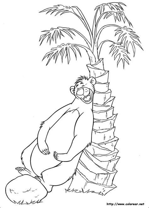 libro para colorear el libro de la selva dibujos para colorear de el libro de la selva