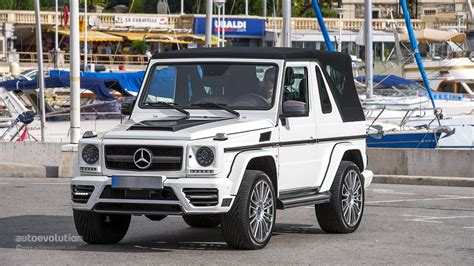 mercedes jeep convertible mercedes benz g500 cabriolet review autoevolution