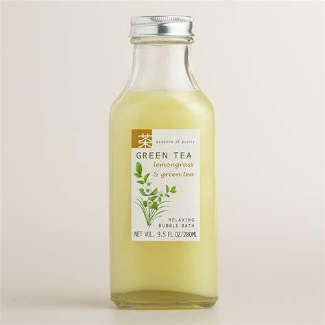 green tea bathroom green tea lemongrass bubble bath world market