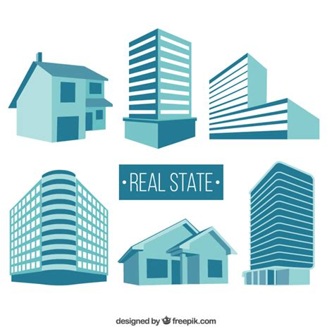 Building Designer Free real state buildings vector free download
