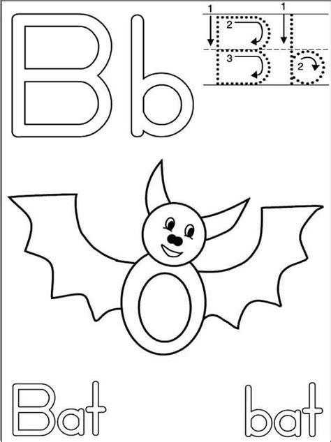 letter b handwriting worksheets foe kindergarten 171 funnycrafts