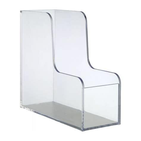 porte document de bureau palaset accessoires de bureau transparent acrylique