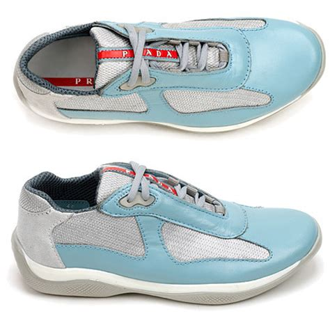 baby prada sneakers my shits is baby blue a they powder blue the essence