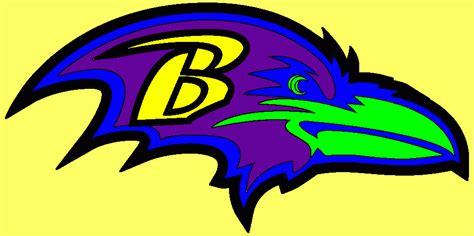 ravens colors baltimore coloring page printable baltimore