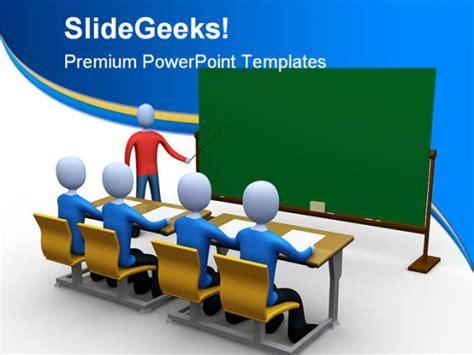 Teacher In Classroom Education Powerpoint Template 1110 Powerpoint Templates For Teachers