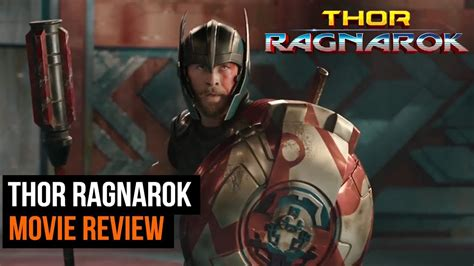 thor movie parental rating thor ragnarok movie review spoiler free youtube