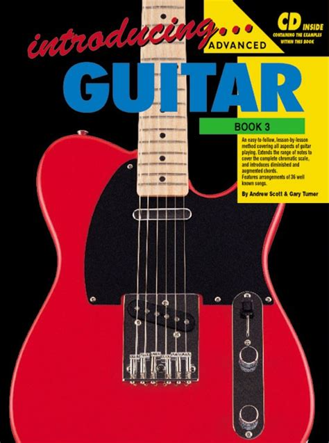 guitar book for beginners teach yourself how to play guitar songs guitar chords theory technique book lessons books introducing guitar book 3